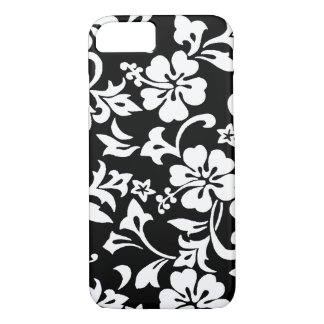 Kapalua Pareau Hawaiian Hibiscus Black iPhone 8/7 Case