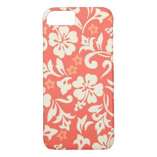 Kapalua Pareau Hawaiian Hibiscus Coral iPhone 8/7 Case