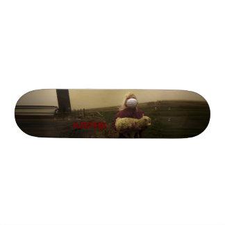 KapinK Sheep Girl Deck Custom Skateboard