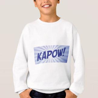 KAPOW comic book apparel Sweatshirt