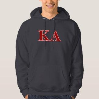 Kappa Alpha Order Red Letters Hoodie