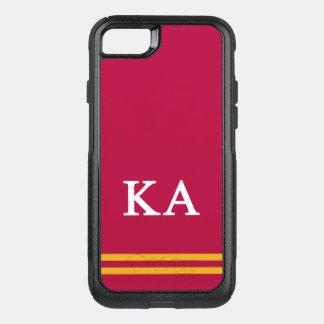 Kappa Alpha Order | Sport Stripe OtterBox Commuter iPhone 7 Case