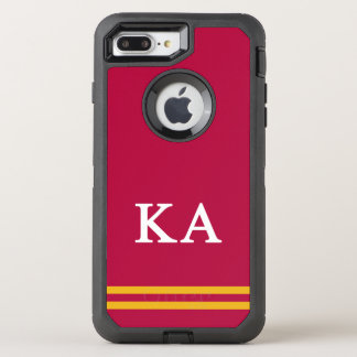 Kappa Alpha Order   Sport Stripe OtterBox Defender iPhone 7 Plus Case