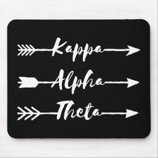 Kappa Alpha Theta | Arrows Mouse Mat