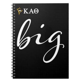 Kappa Alpha Theta | Big Script Notebooks