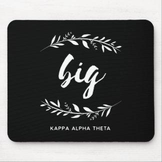 Kappa Alpha Theta | Big Wreath Mouse Mat