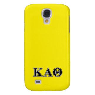 Kappa Alpha Theta Black Letters Galaxy S4 Case