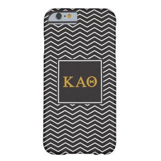 Kappa Alpha Theta | Chevron Pattern Barely There iPhone 6 Case