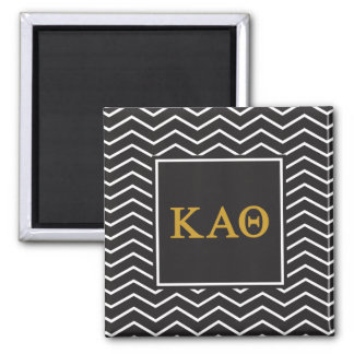 Kappa Alpha Theta | Chevron Pattern Magnet