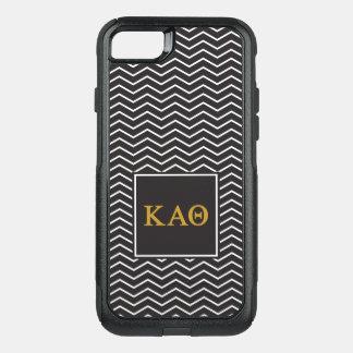 Kappa Alpha Theta | Chevron Pattern OtterBox Commuter iPhone 8/7 Case