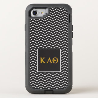 Kappa Alpha Theta | Chevron Pattern OtterBox Defender iPhone 8/7 Case