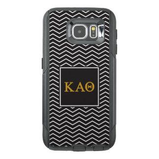 Kappa Alpha Theta   Chevron Pattern OtterBox Samsung Galaxy S6 Case