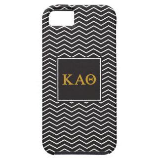 Kappa Alpha Theta   Chevron Pattern Tough iPhone 5 Case
