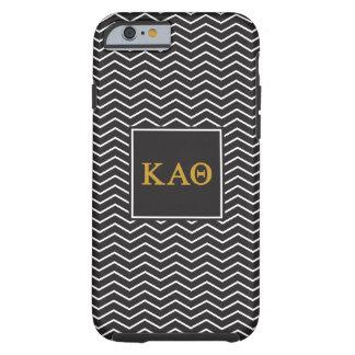 Kappa Alpha Theta | Chevron Pattern Tough iPhone 6 Case