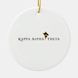 Kappa Alpha Theta Christmas Ornament
