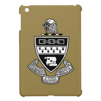 Kappa Alpha Theta Coat of Arms: Black and White Cover For The iPad Mini