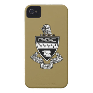 Kappa Alpha Theta Coat of Arms: Black and White iPhone 4 Covers