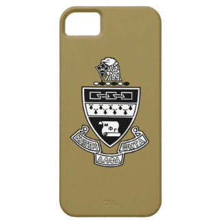 Kappa Alpha Theta Coat of Arms: Black and White iPhone 5 Case