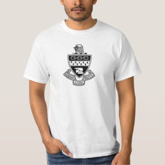 Kappa Alpha Theta Coat of Arms: Black and White T-Shirt