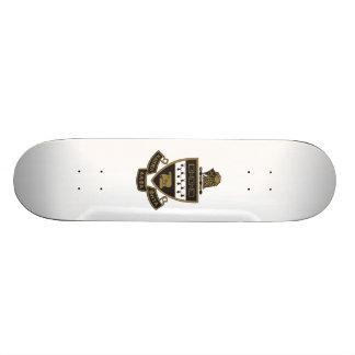 Kappa Alpha Theta Coat of Arms: Color Skateboard Deck