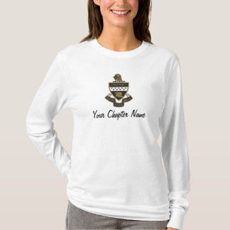 Kappa Alpha Theta Coat of Arms: Color T-Shirt