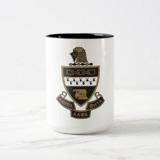 Kappa Alpha Theta Coat of Arms: Color Two-Tone Coffee Mug