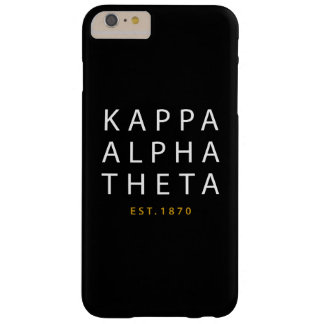 Kappa Alpha Theta | Est. 1870 Barely There iPhone 6 Plus Case