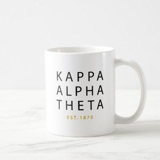 Kappa Alpha Theta | Est. 1870 Coffee Mug