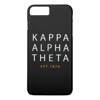 Kappa Alpha Theta | Est. 1870 iPhone 8 Plus/7 Plus Case