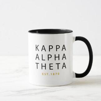 Kappa Alpha Theta | Est. 1870 Mug