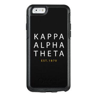 Kappa Alpha Theta | Est. 1870 OtterBox iPhone 6/6s Case