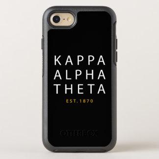 Kappa Alpha Theta | Est. 1870 OtterBox Symmetry iPhone 8/7 Case