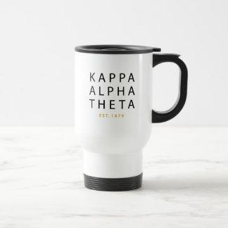 Kappa Alpha Theta | Est. 1870 Travel Mug