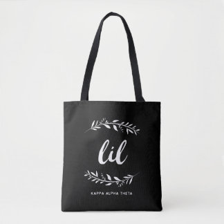 Kappa Alpha Theta   Lil Wreath Tote Bag