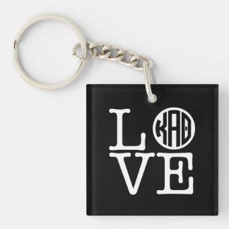 Kappa Alpha Theta   Love Key Ring