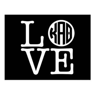 Kappa Alpha Theta   Love Postcard