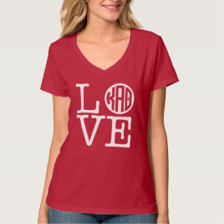 Kappa Alpha Theta | Love T-Shirt