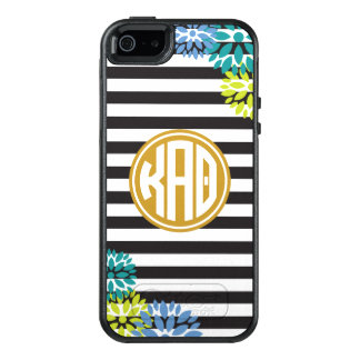 Kappa Alpha Theta | Monogram Stripe Pattern OtterBox iPhone 5/5s/SE Case