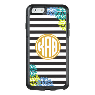Kappa Alpha Theta   Monogram Stripe Pattern OtterBox iPhone 6/6s Case