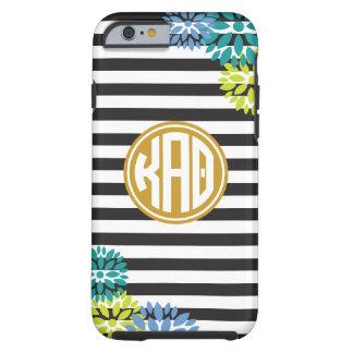 Kappa Alpha Theta | Monogram Stripe Pattern Tough iPhone 6 Case
