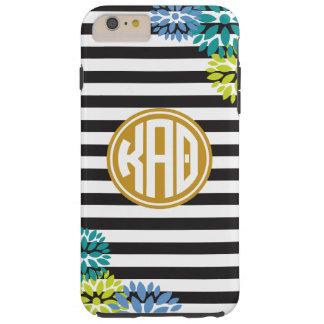 Kappa Alpha Theta | Monogram Stripe Pattern Tough iPhone 6 Plus Case