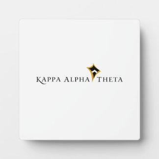 Kappa Alpha Theta Plaque