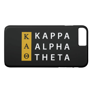 Kappa Alpha Theta | Stacked Logo iPhone 8 Plus/7 Plus Case