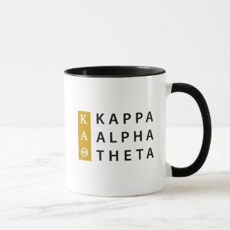Kappa Alpha Theta | Stacked Logo Mug