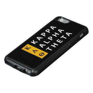 Kappa Alpha Theta | Stacked Logo OtterBox iPhone 6/6s Case
