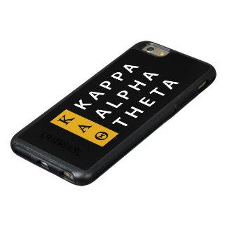 Kappa Alpha Theta | Stacked Logo OtterBox iPhone 6/6s Plus Case