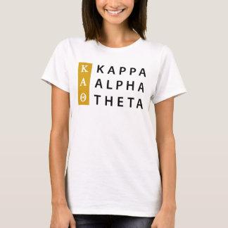 Kappa Alpha Theta | Stacked Logo T-Shirt