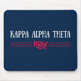 Kappa Alpha Theta | USA Mouse Mat