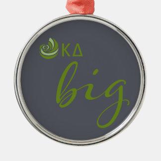 Kappa Delta Big Script Christmas Ornament