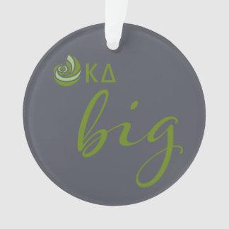 Kappa Delta Big Script Ornament